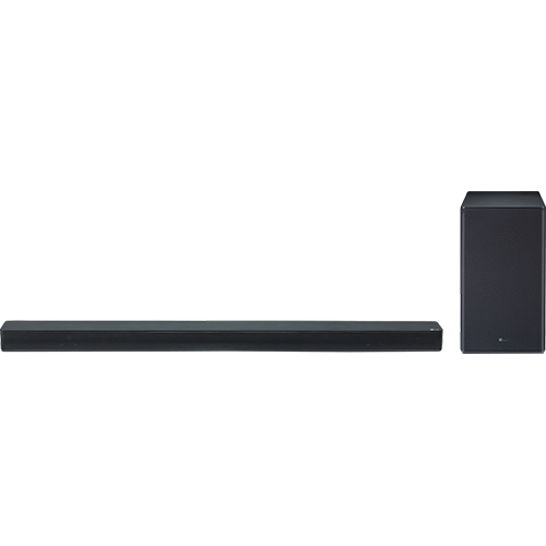 LG 2 1 Channel High Res Audio Sound Bar and Subwoofer with