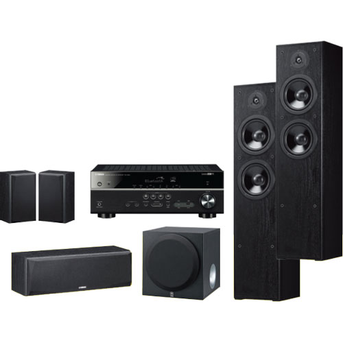 Yamaha 5 1 Channel AV Receiver with MusicCast and Bluetooth plus