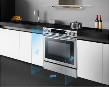 Samsung Electric Range 5 8 cu ft Oven with Built-In