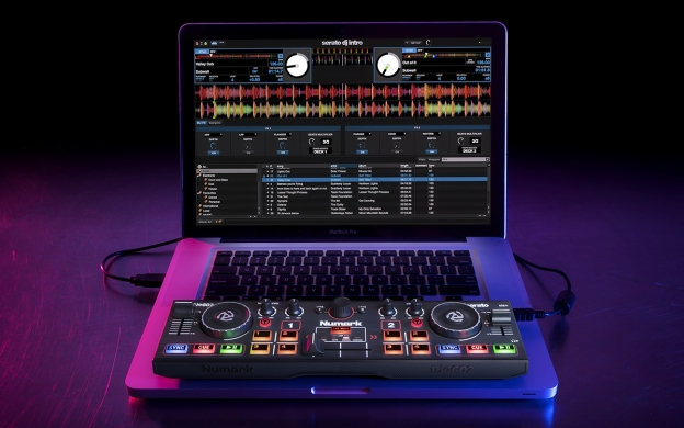 Numark DJ2GO2 Pocket-Sized DJ Controller with Audio Interface (DJ2GO2)